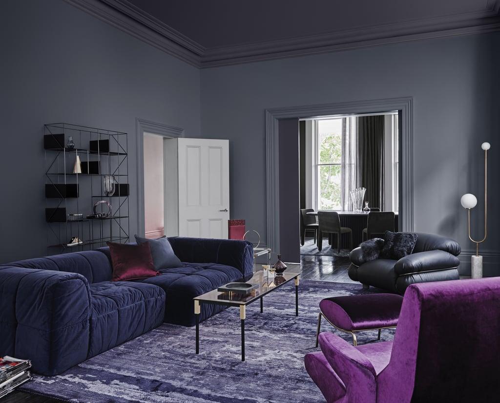 Rich Opulent Velvet Hues 2018 Paint Colour Trends