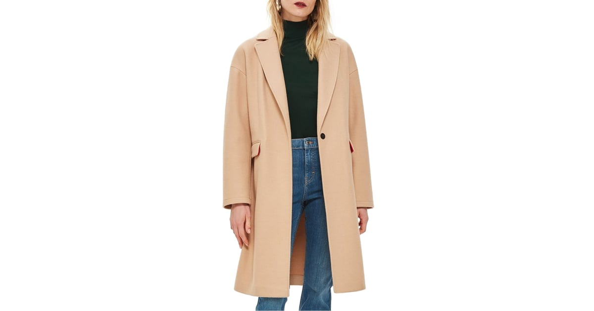 Topshop Lily Knit Back Midi Coat Nordstrom Anniversary Sale