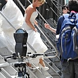 Amy Poehler Wedding Dress Pictures