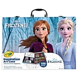Disney's Frozen 2 Inspiration Art Case by Crayola - 100 Art & Colouring Supplies