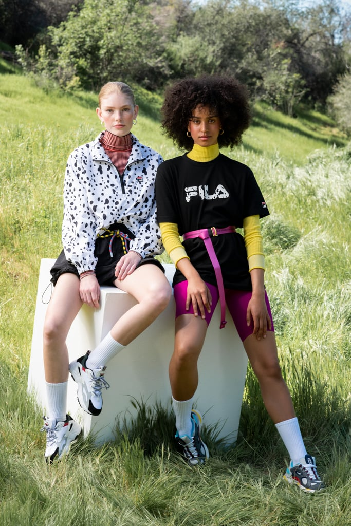 Something wicked has come to Urban Outfitters: Fila recently collaborated with Disney to develop a line of athleisure-style apparel inspired by its famous villains, including 101 Dalmatians's Cruella De Vil, Hercules's Hades, and Alice in Wonderland's Queen of Hearts.  Mostly consisting of t-shirts, hooded sweatshirts, and leggings, the collection is wearable in that it's not so over-the-top with its references to the aforementioned villains. Instead, the villains are represented in cool prints and pops of color. With prices ranging from $16 to $109, the collection is pretty affordable, too! Scope it all out ahead.      Related:                                                                                                           ColourPop's Disney Villains Makeup Collection Is on Sale, So We'll See You on the Dark Side