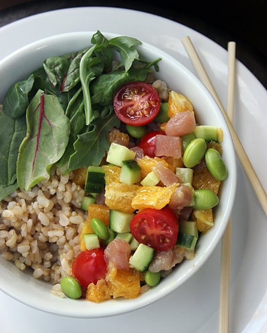 Recipe for fresh tuna brown rice sushi bowl popsugar fitness recipe for fresh tuna brown rice sushi bowl popsugar fitness australia forumfinder Images