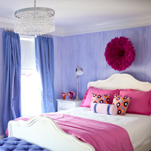 Pretty and Stylish Pink and Purple Big Girls Room POPSUGAR Moms