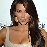 Kim Kardashian's Glossy Hair in 2010