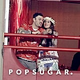 Megan Fox and Brian Austin Green celebrated Carnival weekend in Brazil.