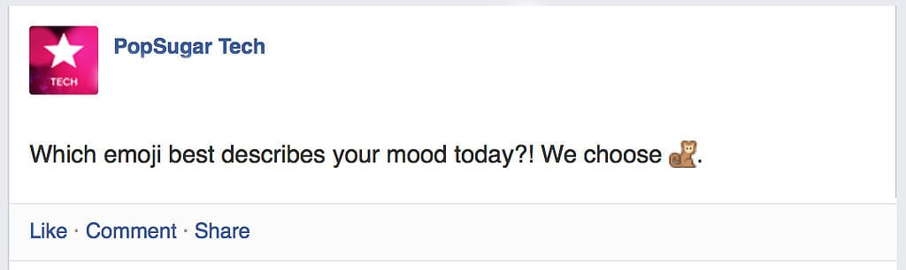 Use Emoji in Your Statuses