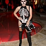 Ariel Winter as a Skeleton