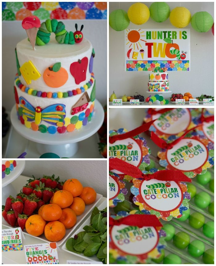 Very Hungry Caterpillar Party & Very Hungry Caterpillar Party | Second Birthday Party Ideas ...