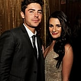 She showed off her sultry side with Zac Efron at the premiere party for New Year's Eve in LA in December 2011.