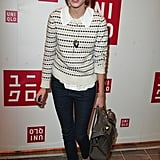 Stripes and skinnies at an event in '07.