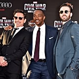Chris Evans at Captain America: Civil War LA Premiere 2016