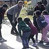 Prince Harry Playing With Kids During Fit and Fed Visit 2018