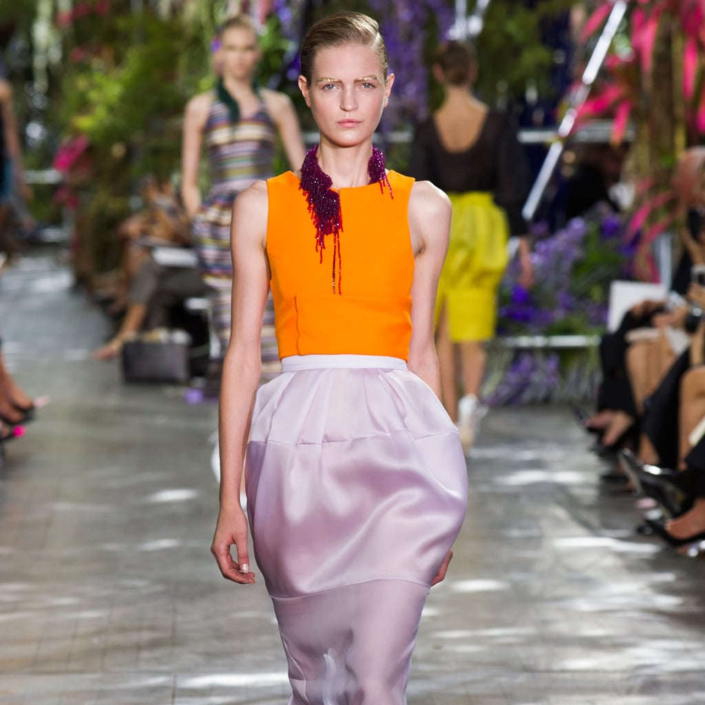 Christian Dior Spring 2014: Flower Girls
