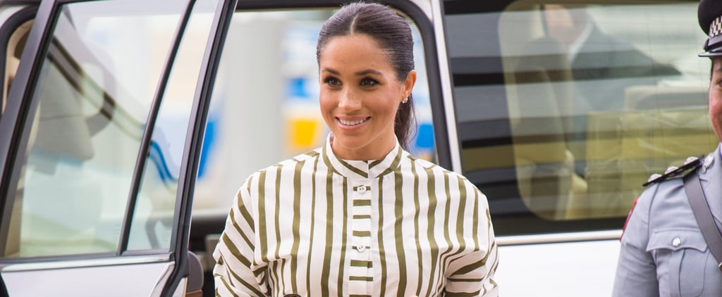 Meghan Markle Shirt Dress in Tonga 2018
