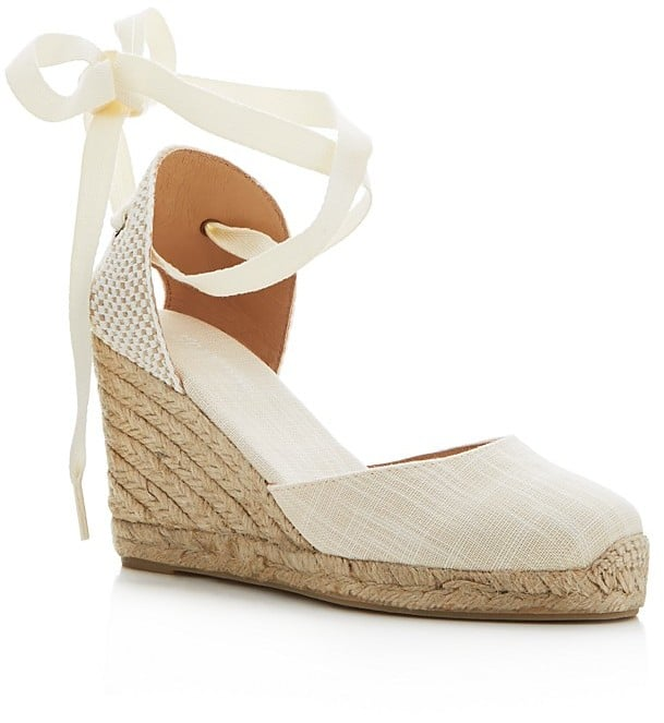 A Pair of Espadrille Wedges