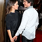 Nikki Reed and Ian Somerhalder couldn't have been cuter when they hit the red carpet at the Noble Awards in Beverly Hills on Friday.