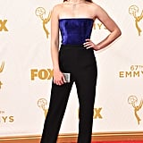 Sophie Turner at the Emmys in 2015