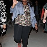 Amber Riley at Adele's LA show.