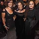 Pictured: Gayle King, Oprah Winfrey, and Ava DuVernay