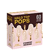 Halo Top Strawberry Cheesecake Pops