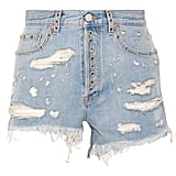Shop It: Gucci Embellished Denim Shorts