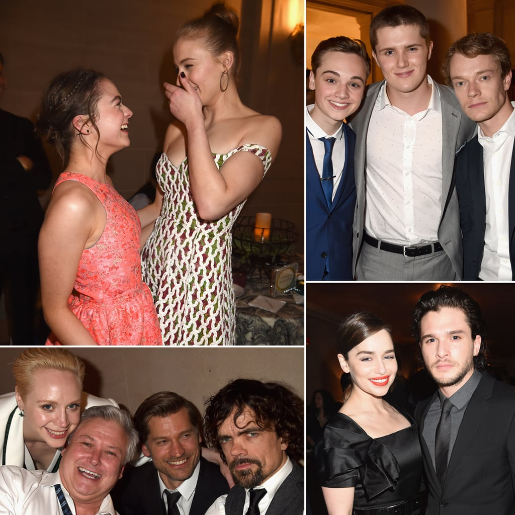 The Game of Thrones Cast Lets Loose in California