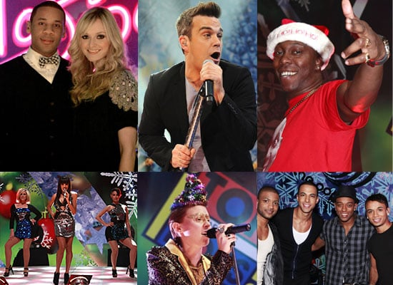 Full Gallery of Photos from Christmas Top of the Pops Featuring Robbie Williams, JLS, Florence and the Machine, Alexandra Burke