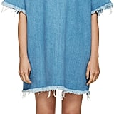 Marques Almeida Faded Blue Frayed Denim Dress ($395)