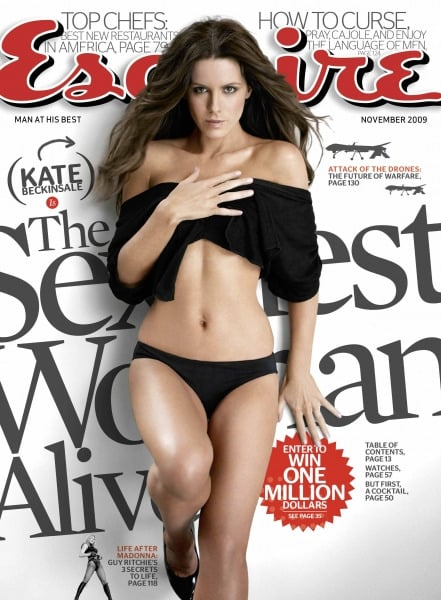 Kate Beckinsale was crowned Esquire's Sexiest Woman Alive in 2009.