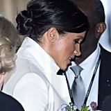 Meghan Markle's '60s-Style Knot, 2019
