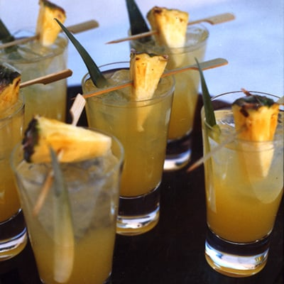 Tequila Pineapple Juice Pitcher Cocktail Recipe