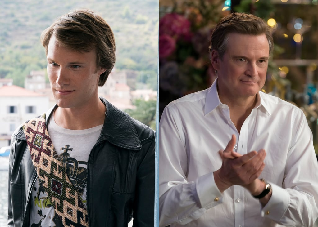 Hugh Skinner and Colin Firth as Harry