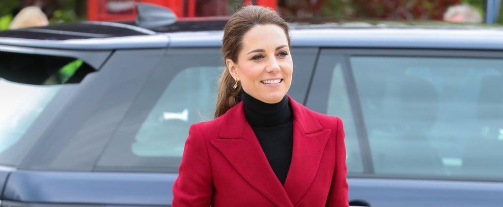 Kate Middleton Red Jacket May 2019