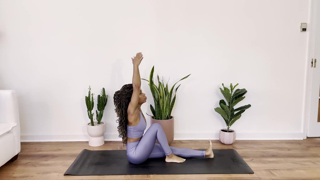 Sweated Twist — Hold for 3-5 Breaths