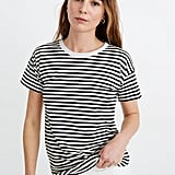 Madewell Whisper Cotton Rib-Crewneck Tee