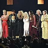 Maren Morris, Katy Perry, Little Big Town, Dolly Parton, Miley Cyrus, and Kacey Musgraves