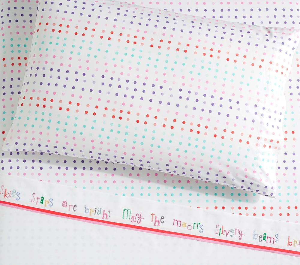 Organic Margherita Missoni Lullaby Cuff & Dot Sheet Set ($17-$149)