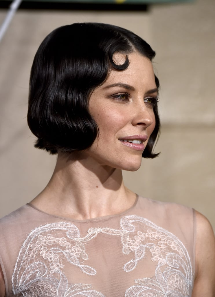 Evangeline Lilly Retro Waves And Vintage Hairstyles