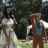 Tahani and Jason From The Good Place