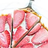 Strawberry Vanilla Vegan Cheesecake