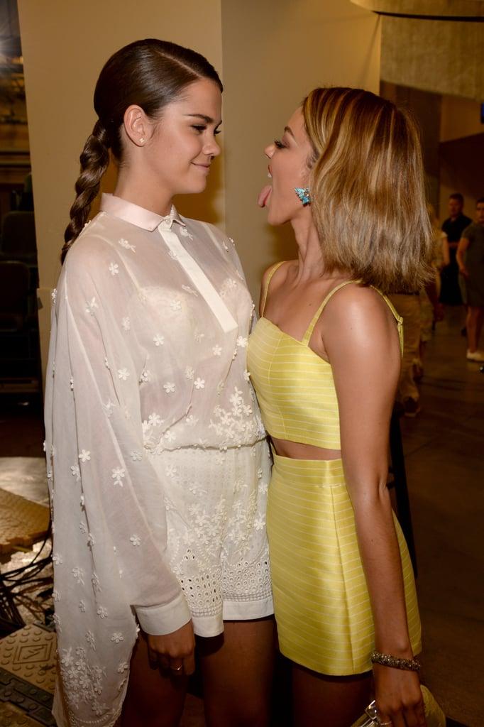 Maia Mitchell and Sarah Hyland