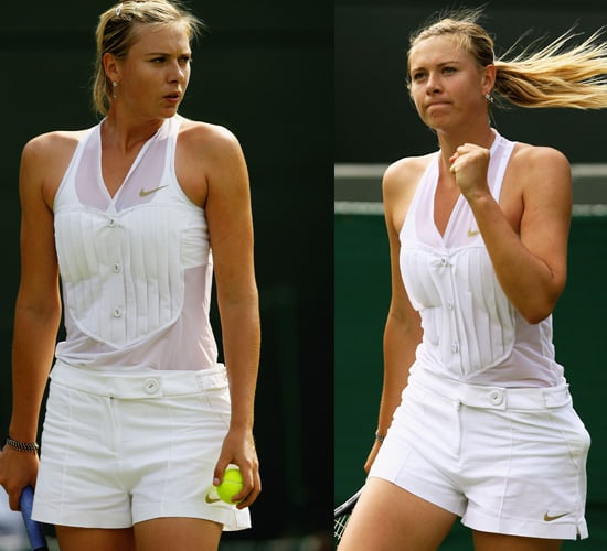 Maria Sharapova Brings Style to Wimbledon 2008