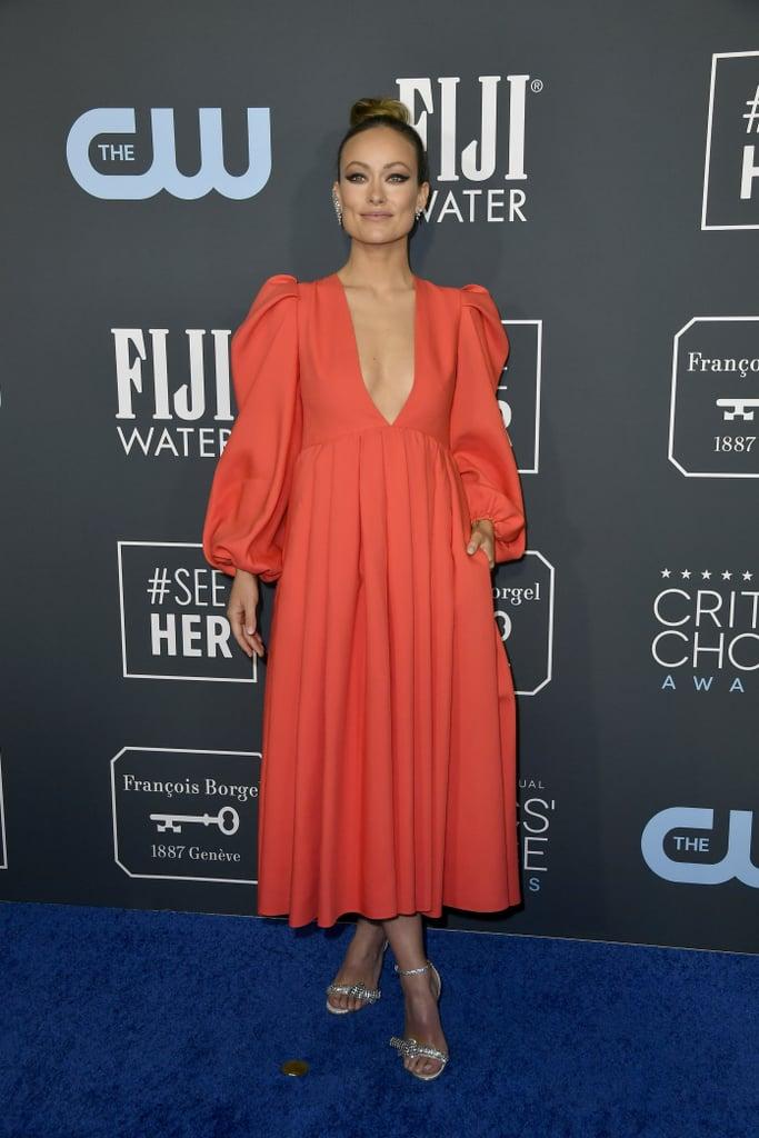 Olivia Wilde at the 2020 Critics' Choice Awards