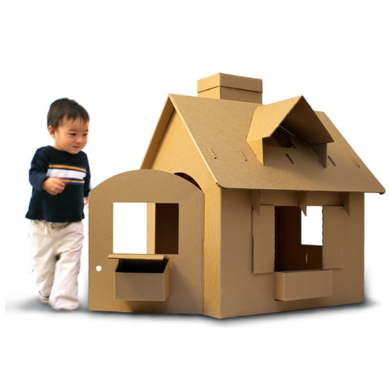 Cardboard and Wooden Modern Playhouses