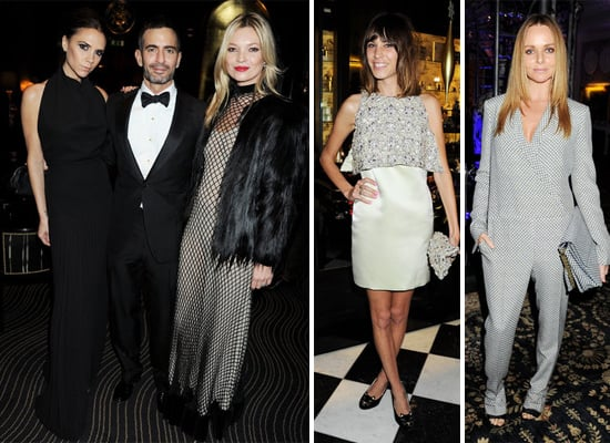 Victoria Beckham, Kate Moss, Alexa Chung Pictures at 2011 British Fashion Awards