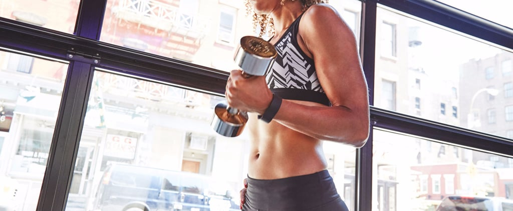 Running and Dumbbell Workout