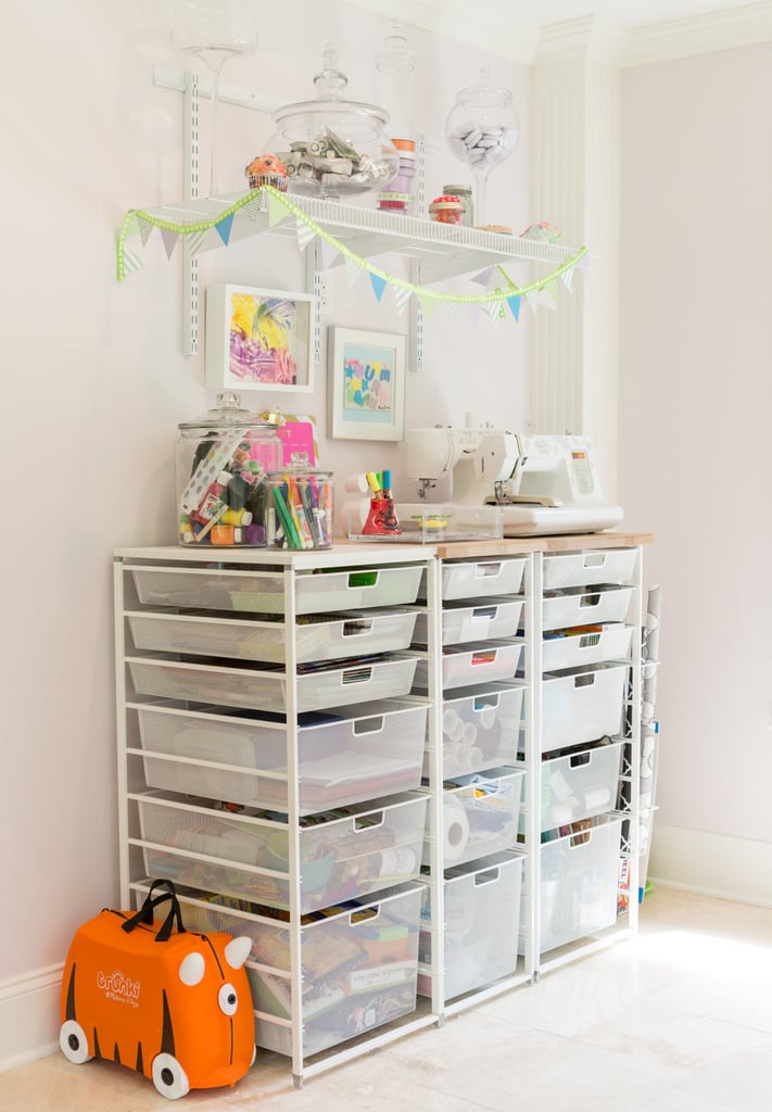 10 Tricks For Organizing Your Kids Craft Area
