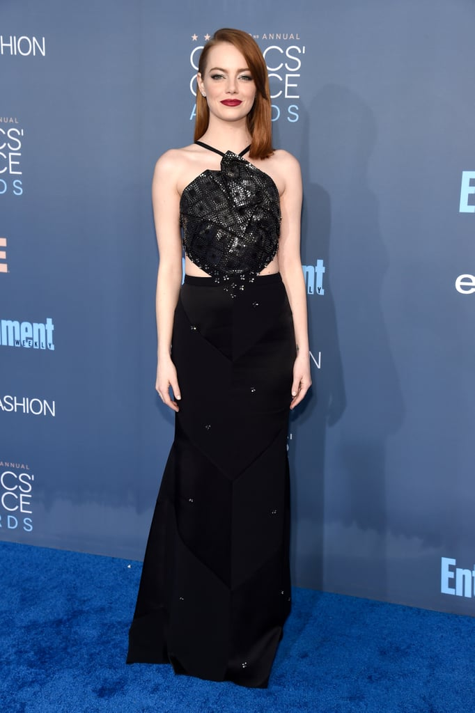 Emma Stone's Dress at the Critics' Choice Awards 2017 | POPSUGAR ...