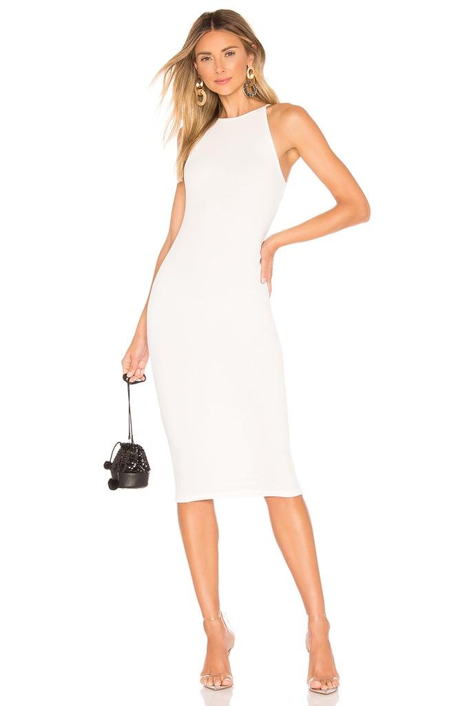 Superdown Katy Ribbed Midi Dress