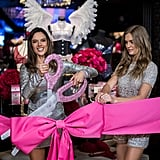 The VS Models Celebrated the Opening of Victoria's Secret's Shanghai Flagship Store